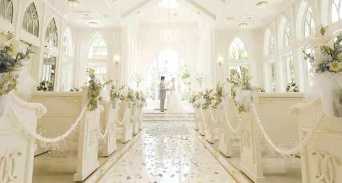 金紗夢海外婚禮 | 海洋水晶教堂 Ocean Crystal Chapel