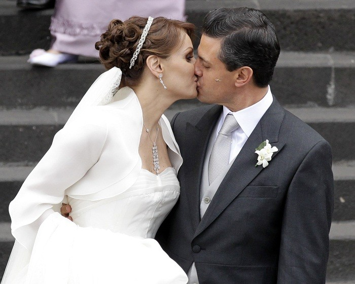Enrique Pena Neito and Angelica Rivera Wedding