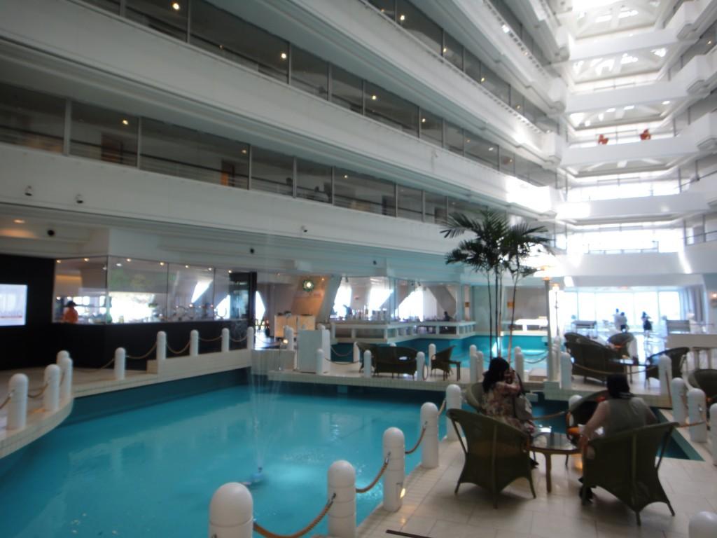 沖繩 Sunmarina 渡假飯店中庭 金紗夢聖瑪莉娜婚禮