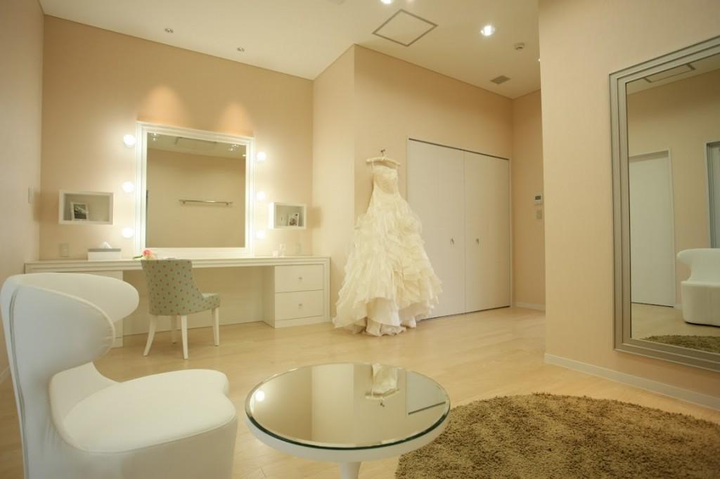 新娘化妝/休息室