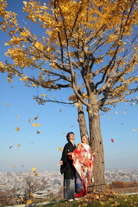 北海道玫瑰教堂 婚紗攝影