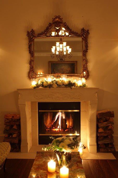 玫瑰克萊思特教堂溫馨的迎賓室