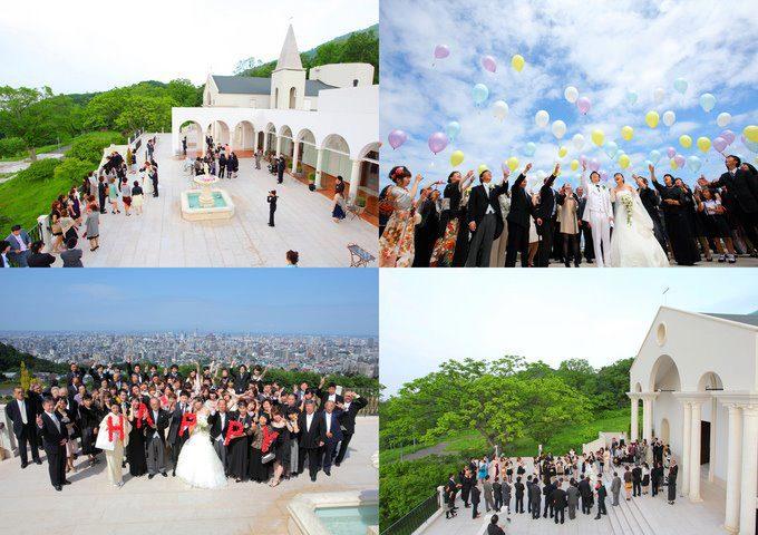 金紗夢 | 北海道玫瑰教堂婚禮 分享