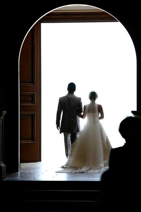 婚禮完成象徵攜手走向新的人生
