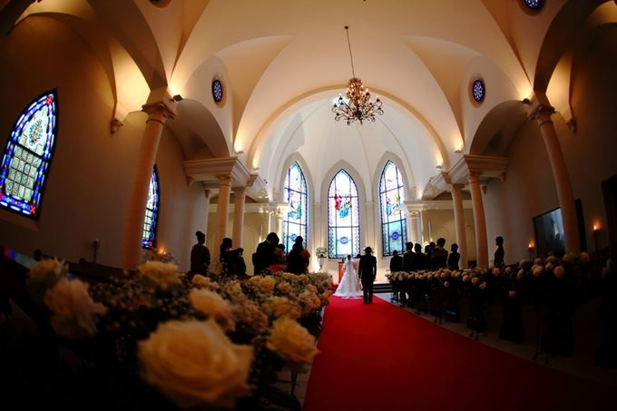 金紗夢婚禮 | 北海道玫瑰教堂婚禮