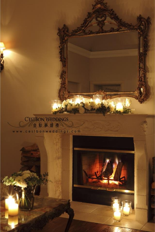 是真的壁爐喔!冬天的時候每天早上都會有專人去生火,溫暖整個休息室