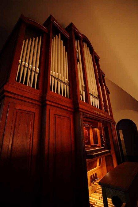歐洲名師手工打造的管風琴