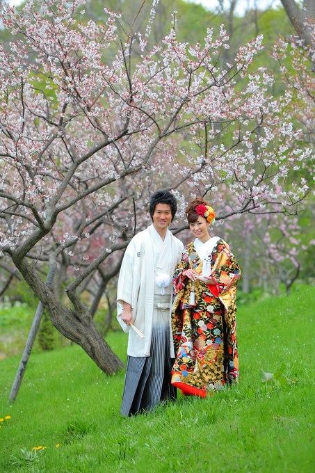 北海道玫瑰教堂 婚紗攝影作品